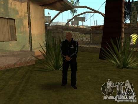 Dwayne The Rock Johnson für GTA San Andreas dritten Screenshot