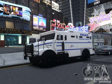 Enforcer Emergency Service NYPD für GTA 4