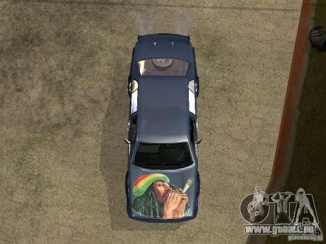VW Jetta pour GTA San Andreas vue arrière
