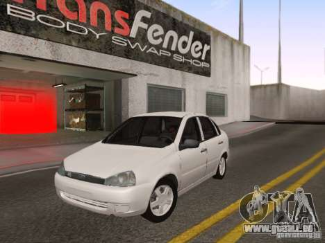 LADA Kalina Limousine für GTA San Andreas