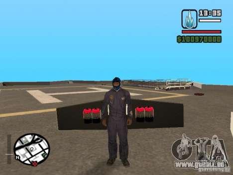 Jetwing Mod für GTA San Andreas fünften Screenshot