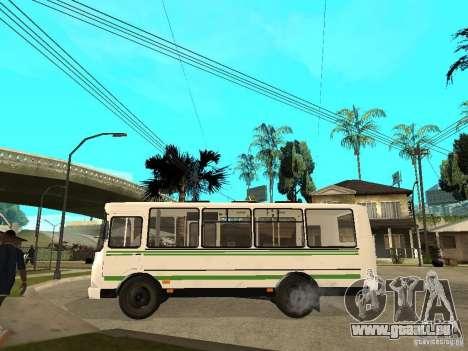 PAZ 3205 für GTA San Andreas linke Ansicht