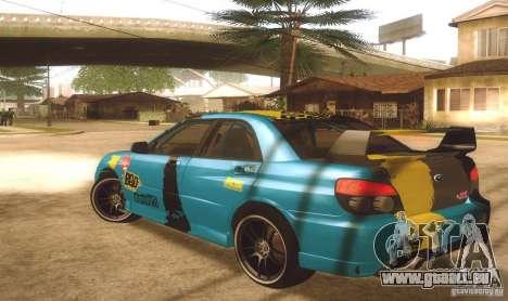 Subaru Impreza WRX STI Futou Battle für GTA San Andreas linke Ansicht