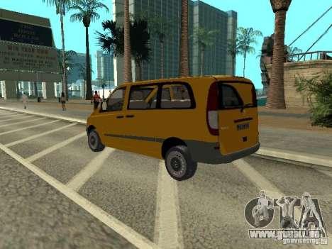 Mercedes-Benz Vito 2003 pour GTA San Andreas laissé vue