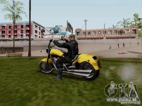 Vice City Freeway pour GTA San Andreas laissé vue