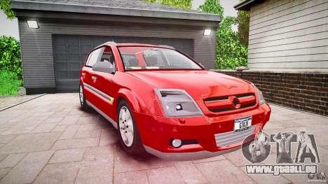 Opel Signum 1.9 CDTi 2005 pour GTA 4 est un droit
