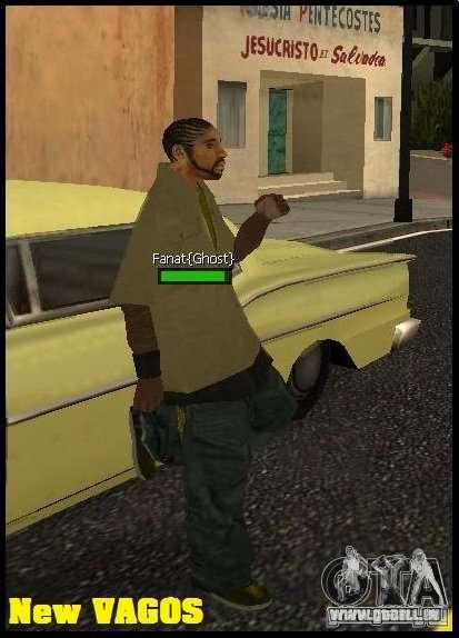 New Vagos [lsv2] pour GTA San Andreas deuxième écran