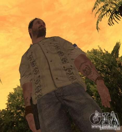 Frank Woods von Call of Duty Black Ops für GTA San Andreas zweiten Screenshot