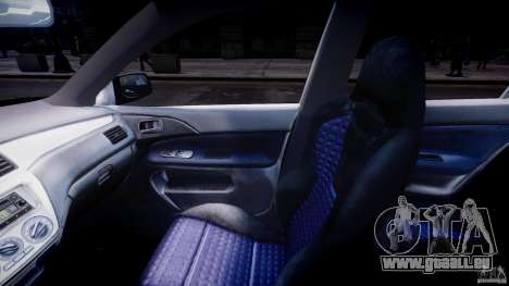 Mitsubishi Lancer Evolution VIII pour GTA 4 est un droit