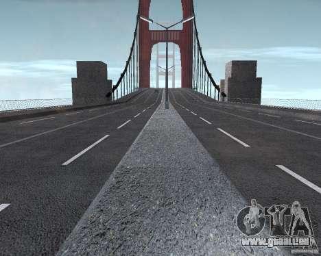 Neue Texturen der drei Brücken in SF für GTA San Andreas achten Screenshot
