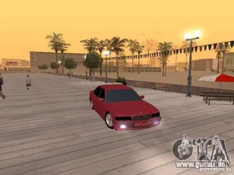 BMW 750iL e38 diplomate pour GTA San Andreas vue de droite