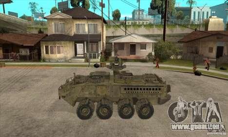 Stryker CDMW2 für GTA San Andreas linke Ansicht