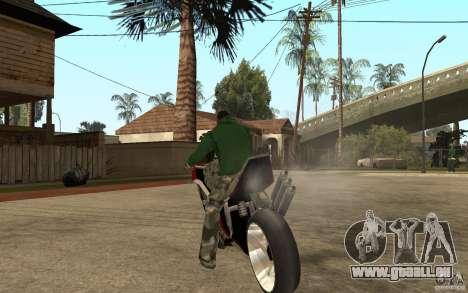 Streetfighter NRG 500 Snakehead v2 für GTA San Andreas zurück linke Ansicht