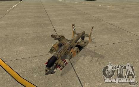 Orca Air Command and Conquer 3 für GTA San Andreas linke Ansicht
