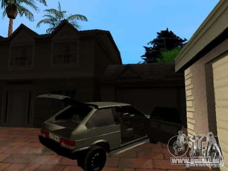 VAZ 2108 Gangsta Edition für GTA San Andreas rechten Ansicht