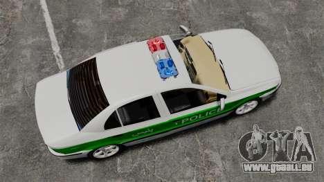 Iran Khodro Samand LX Police für GTA 4 rechte Ansicht