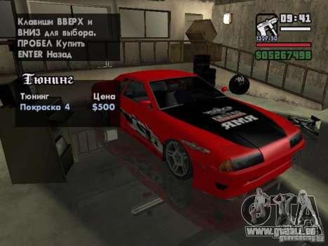 Ultra Elegy v1.0 für GTA San Andreas obere Ansicht
