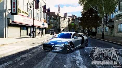 Audi R8 Spider 2011 pour GTA 4