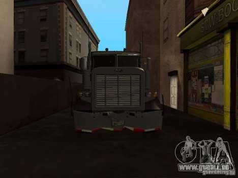 Phantom von GTA IV für GTA San Andreas Seitenansicht