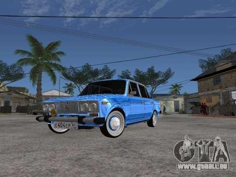 VAZ 2106 rétro V2 pour GTA San Andreas
