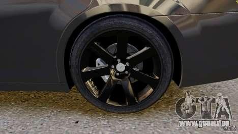 Chrysler 300 SRT8 2012 pour GTA 4 est une vue de l'intérieur