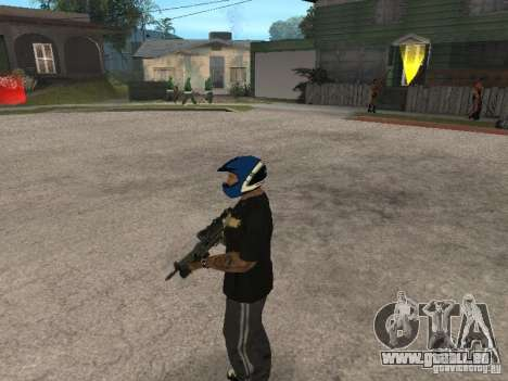 PP-19 Bizon mit Optik für GTA San Andreas her Screenshot