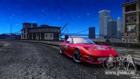 Mazda RX-7 FnF pour GTA 4