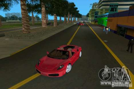 Ferrari F430 Spider 2005 pour GTA Vice City