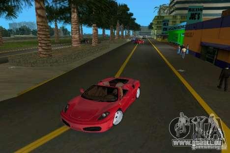 Ferrari F430 Spider 2005 für GTA Vice City