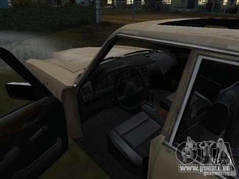 Mercedes-Benz de Call of Duty 4 pour GTA San Andreas vue de droite