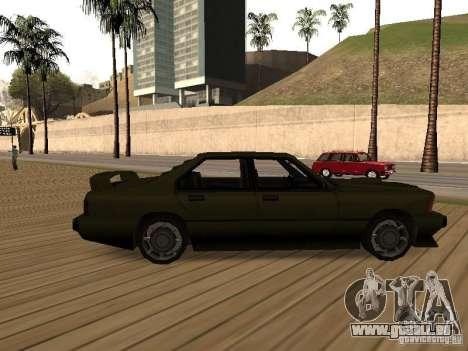 Sentinel XS pour GTA San Andreas laissé vue