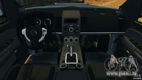 Nissan Frontier DUB v2.0 pour GTA 4 Vue arrière
