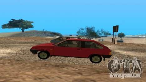 VAZ 2108 pour GTA San Andreas moteur