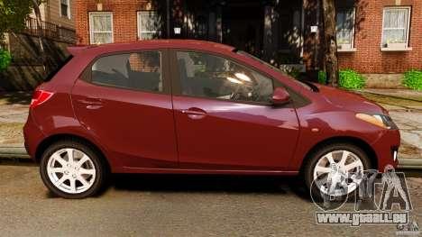 Mazda 2 2011 pour GTA 4 est une gauche