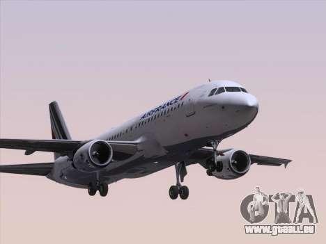 Airbus A320-211 Air France für GTA San Andreas linke Ansicht