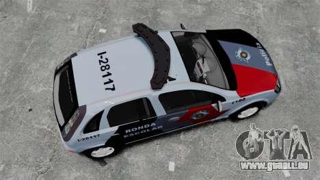 Chevrolet Corsa 2012 PMESP ELS für GTA 4 rechte Ansicht