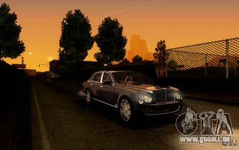 Bentley Mulsanne 2010 v1.0 pour GTA San Andreas