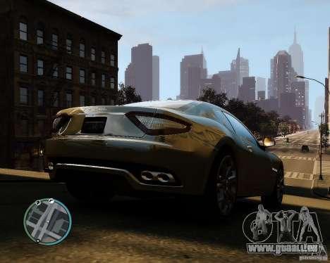 Maserati Grandturismo pour GTA 4 est un droit
