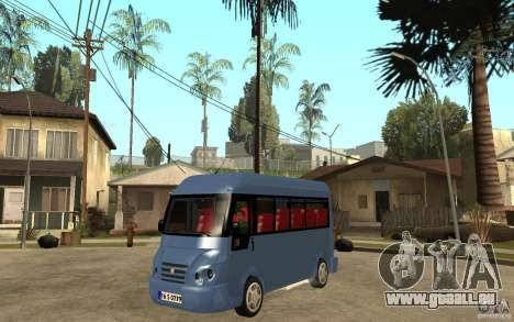 Karsan J10 pour GTA San Andreas