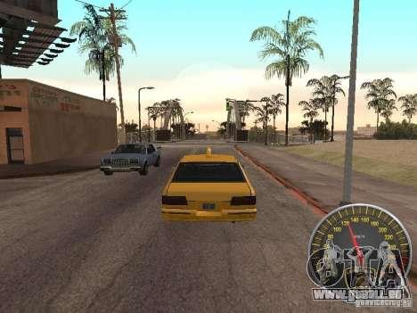 Compteur de vitesse Lamborghini pour GTA San Andreas