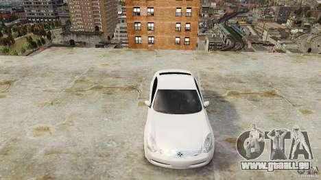 Infiniti G35 für GTA 4 rechte Ansicht