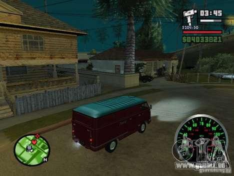 PLAYLIST 762 dans pour GTA San Andreas vue arrière