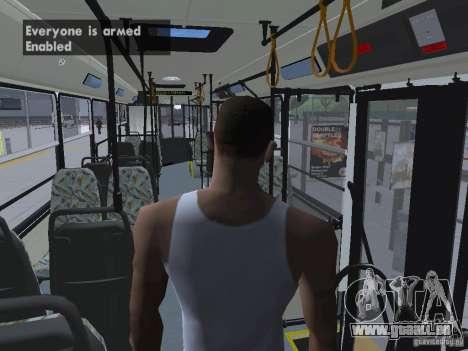 Ikarus 415 für GTA San Andreas Unteransicht