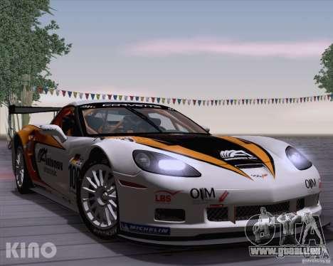 Chevrolet Corvette C6 Z06R GT3 v1.0.1 für GTA San Andreas Innenansicht