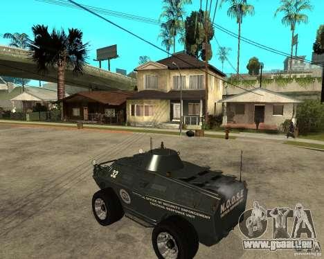 Der APC von GTA IV für GTA San Andreas linke Ansicht