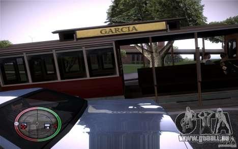 Clever Trams pour GTA San Andreas troisième écran