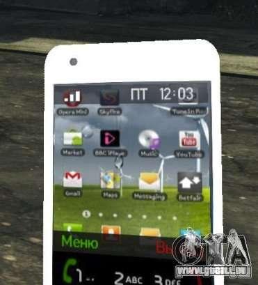 Samsung Galaxy S2 für GTA 4 weiter Screenshot