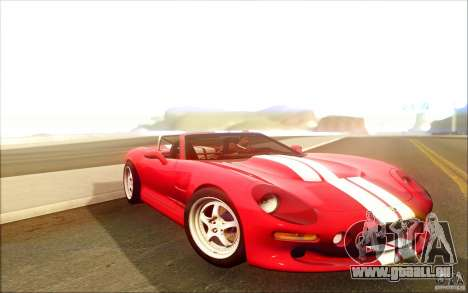 Shelby Series 1 1999 pour GTA San Andreas