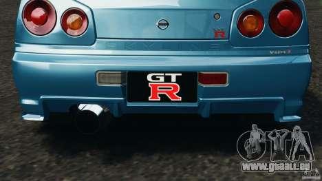 Nissan Skyline GT-R R34 2002 v1.0 pour GTA 4