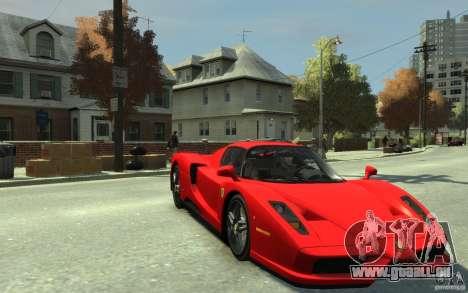 Ferrari Enzo [EPM] v1 pour GTA 4 Vue arrière